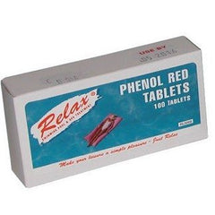 Phenol Red Tablets Relax - H2oFun.co.uk