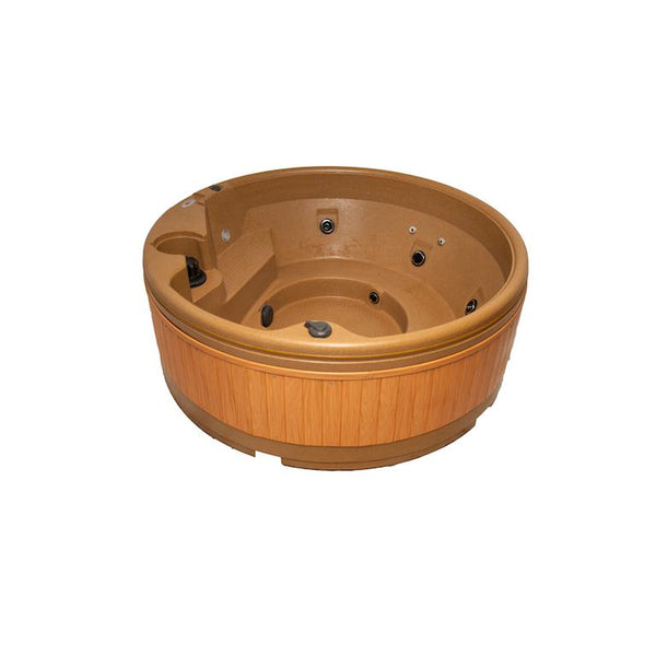 Quatrospa 5-6 Person RotoSpa Hot Tub Sandstone - H2oFun.co.uk