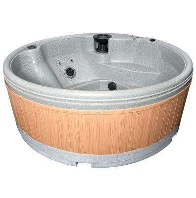 Quatrospa 5-6 Person RotoSpa Hot Tub Light Grey - H2oFun.co.uk
