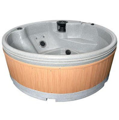 Quatrospa 5-6 Person RotoSpa Hot Tub Light Grey
