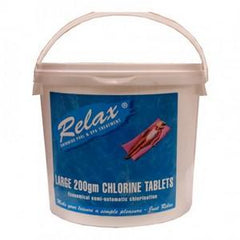 Large 200g Chlorine tablets by Relax