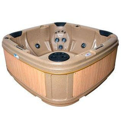 duraspa s380 sandstone rotospa hot tub spa