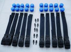 Strap Set for Swimming Pool Reel Systems - H2oFun Ltd