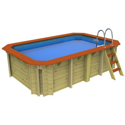 X-Stream Exercise Pool - Plastica Wooden Pool
