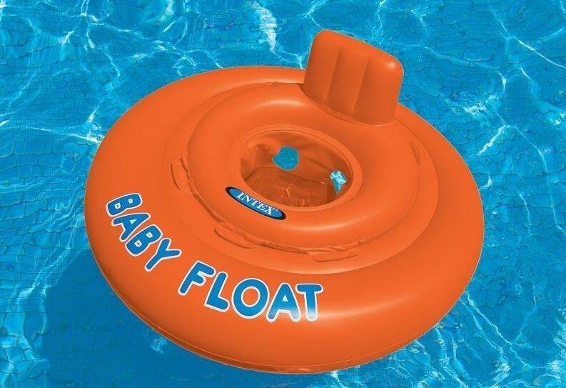 Intex Baby Float Swim Seat - 1 Year to 2 Years - H2oFun.co.uk