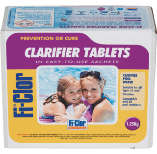 Fi-Clor Clarifier Tablets 1.25kg - H2oFun.co.uk