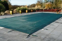Plastica Deluxe Winter Debris Cover with 5ft Roman End - H2oFun.co.uk
