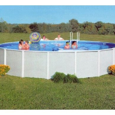 Doughboy 12ft x 24ft Oval Premier Pool - H2oFun Ltd