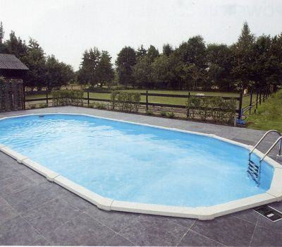 Doughboy 16ft x 28ft oval regent pool for Doughboy above ground swimming pools