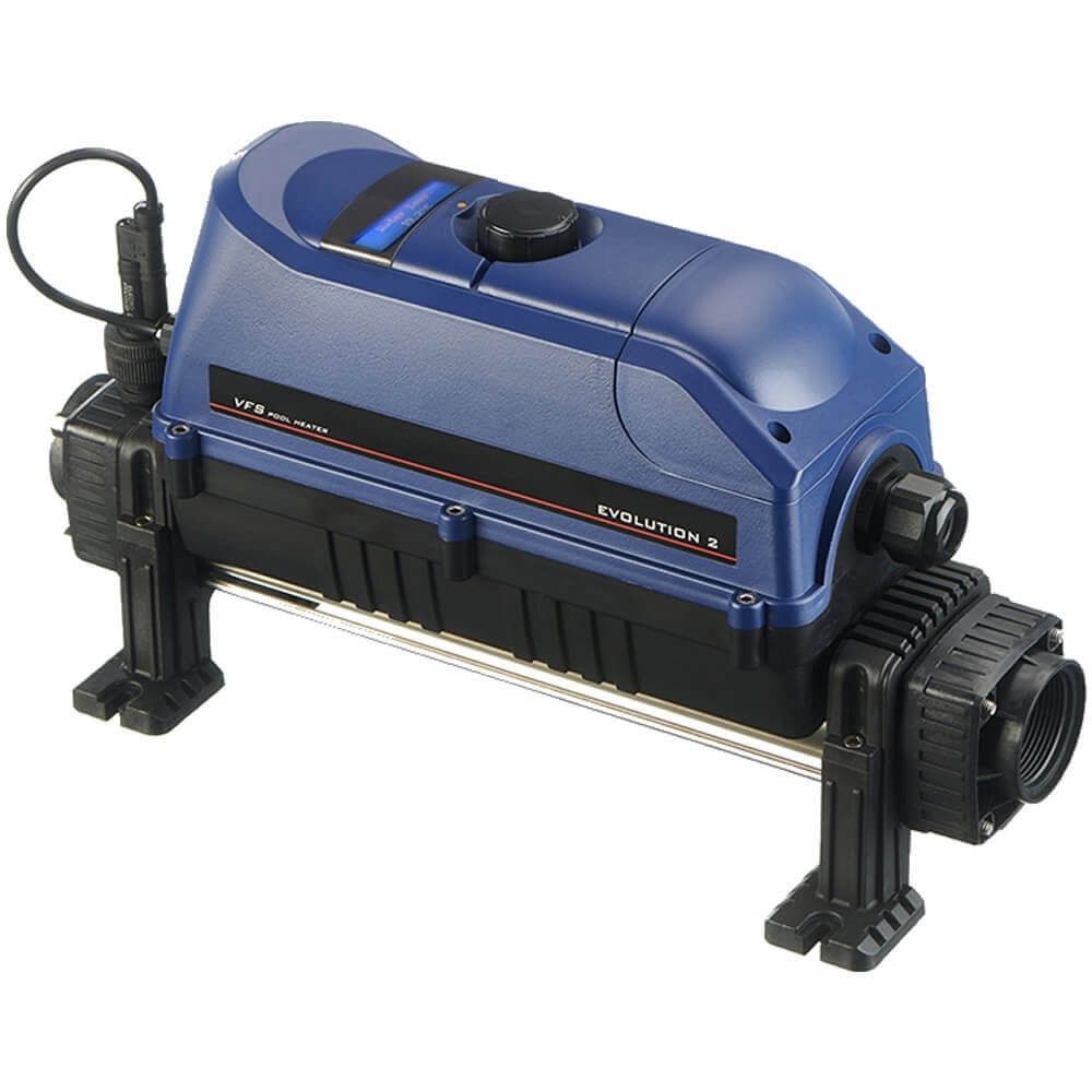 elecro evolution 2 electric pool heater