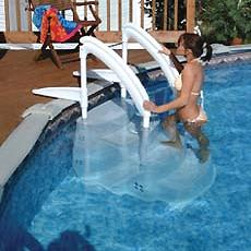 Fiesta Festiva Drop-In Swimming Pool Step - H2oFun.co.uk