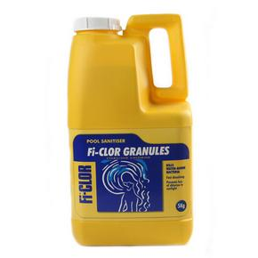 Fi-Clor Stabilised Chlorine Granules 5kg For Swimming Pools - H2oFun.co.uk