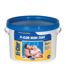 Fi-Clor Mini Tabs 1kg and 2.5kg - Chlorine 20g Tablets For Swimming Pools - H2oFun.co.uk