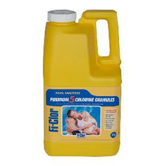 Fi-Clor Premium 5 Chlorine Granules 5kg - For Swimming Pools - H2oFun.co.uk