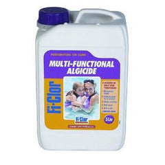 Fi-Clor Multifunctional Algaecide - Long Life Summer Algicide - 3 Litres - H2oFun.co.uk