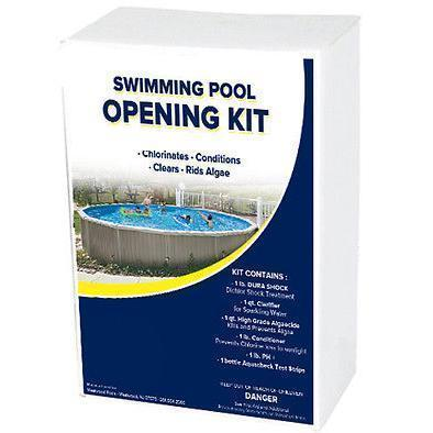 Spring & Summer Chemical Kit For Opening Swimming Pools - H2oFun.co.uk