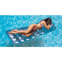 Intex 18 Pocket Suntanner Silver Lounger #58894EU - H2oFun.co.uk