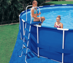 "Intex Above Ground Pool Ladder - 36"" 42"" 48"" 52"" - H2oFun.co.uk"