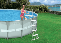 "Intex Pool Ladder with Removable Safety Steps - 36"" Up To 52"" High #28075, #28076 & #28077 - H2oFun.co.uk"