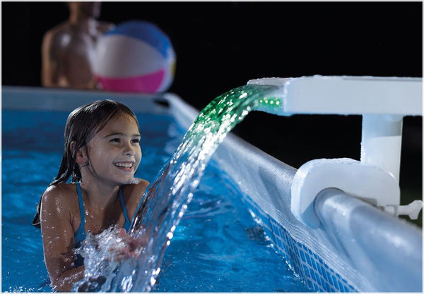 Intex Multi-Colour LED Waterfall Cascade #28090 - H2oFun.co.uk