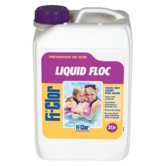 Fi-Clor Liquid Floc - Concentrated Aluminium Floc 3lt - H2oFun.co.uk