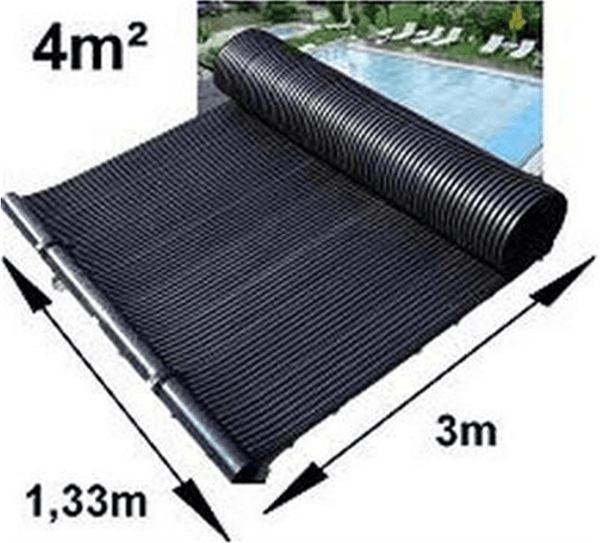 4m poolsolar swimming pool solar heating matting