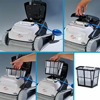 Poolstyle Advanced Robotic Pool Cleaner - Waterline, Walls & Floor - H2oFun.co.uk