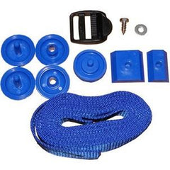 5 x Plastica Universal Strap Set for Swimming Pool Reel Systems - H2oFun.co.uk
