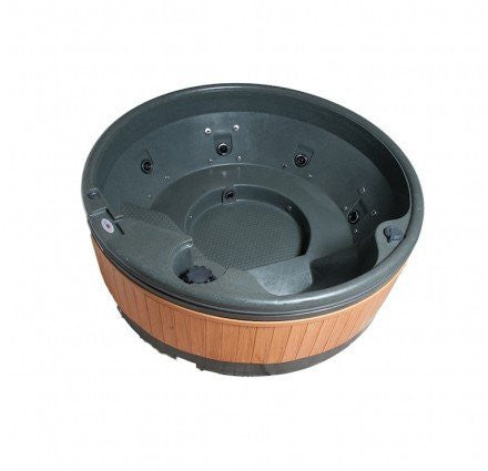 Quatrospa 5-6 Person RotoSpa Hot Tub - Fits Through Standard Doorway - H2oFun.co.uk