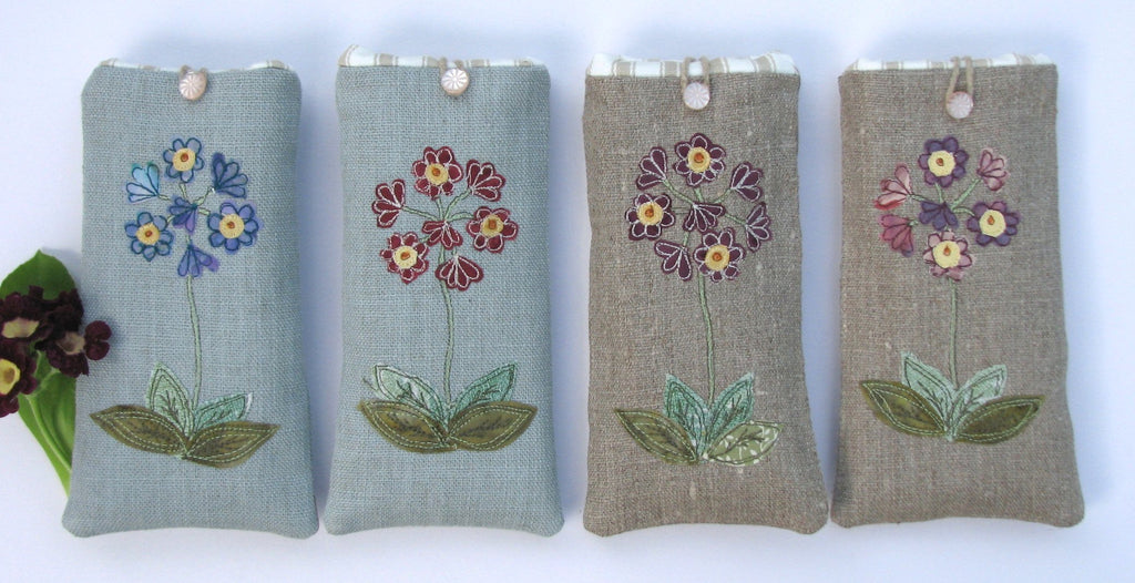 Glasses case - Auricular flower