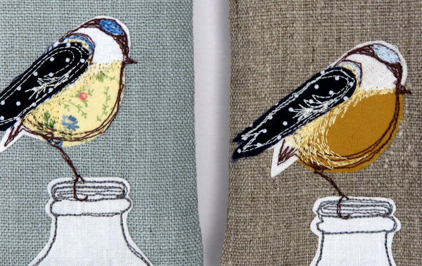 Blue tit - Glasses case