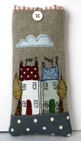Glasses case - House