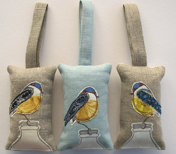 Lavender Bag - Blue tit bird