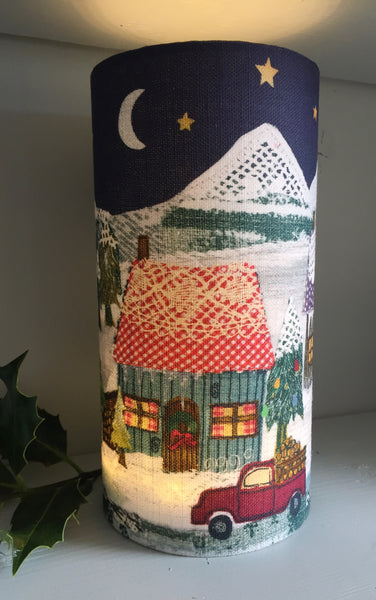 Lantern - Christmas- Winter Cabins