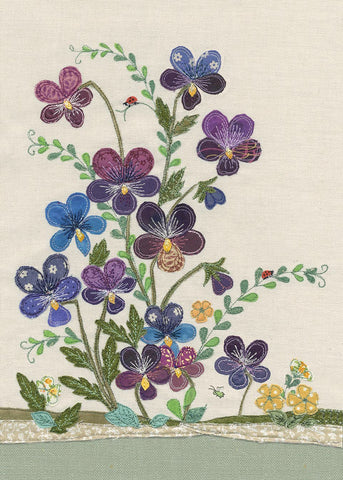 Greeting card - Violas