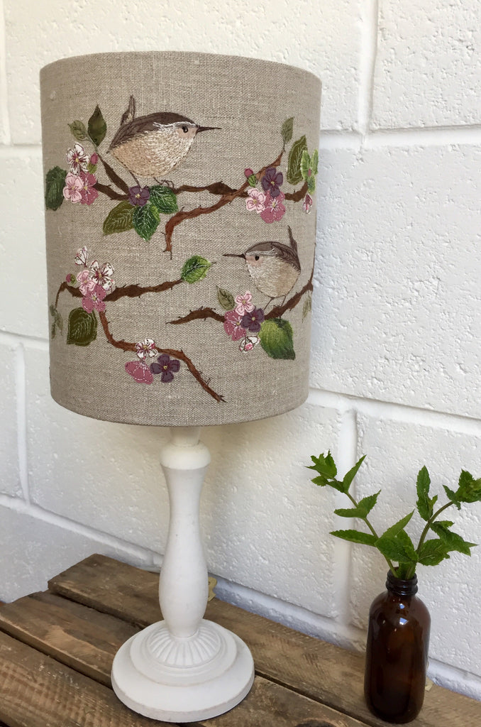 Lampshade - Wren In Blossom