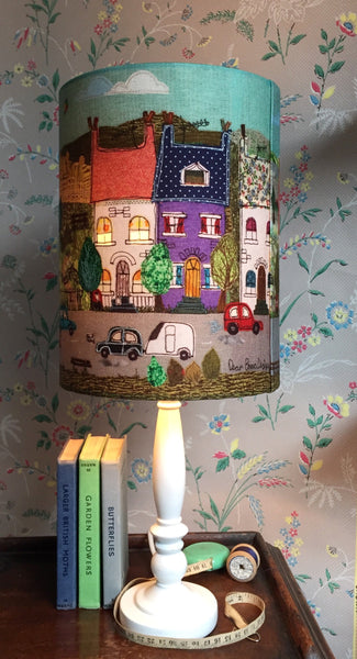 Lampshade- 'Sunny Side.'