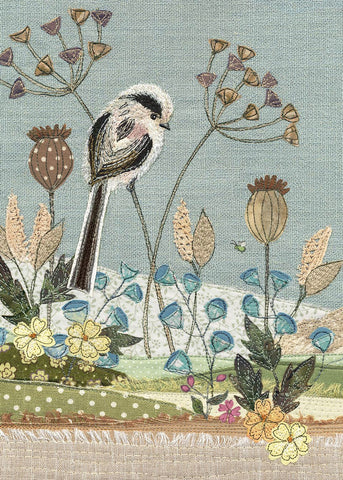 Greeting Card - Long Tailed Tit