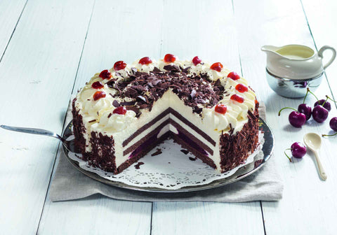 Original (PRE-CUT) Blackforest Gateau (609)