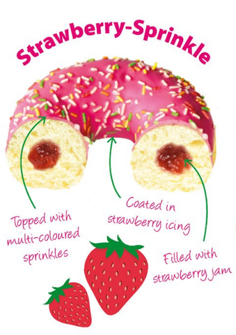 Donuts - Premium Strawberry Sprinkle (5004D)