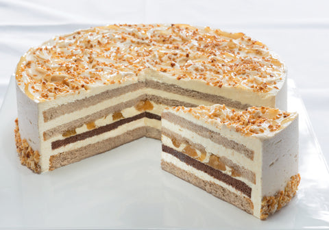 Nut & Buttercream Gateau (514)