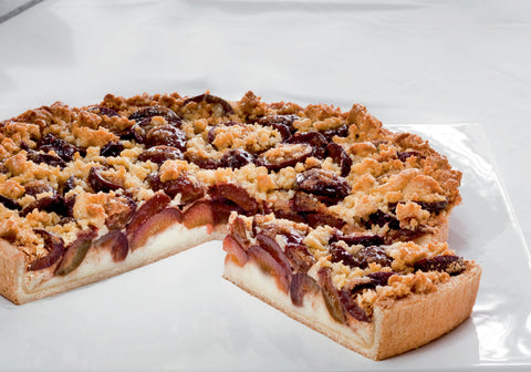 Plum Cake With Butter Crumbles (227)