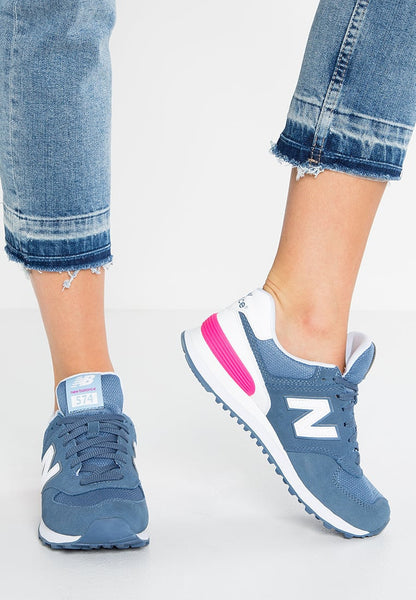 New Balance WL574 - Baskets basses - blue
