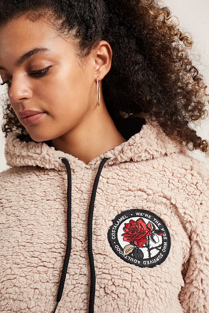Imagen 1 mujer CLM Sherpa Hoodie costalamel