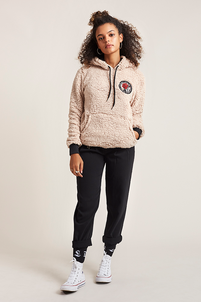 Imagen 2 mujer CLM Sherpa Hoodie costalamel