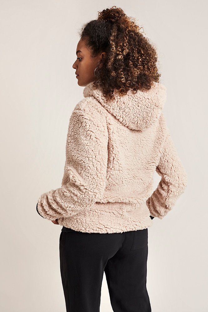 Imagen 3 mujer CLM Sherpa Hoodie costalamel