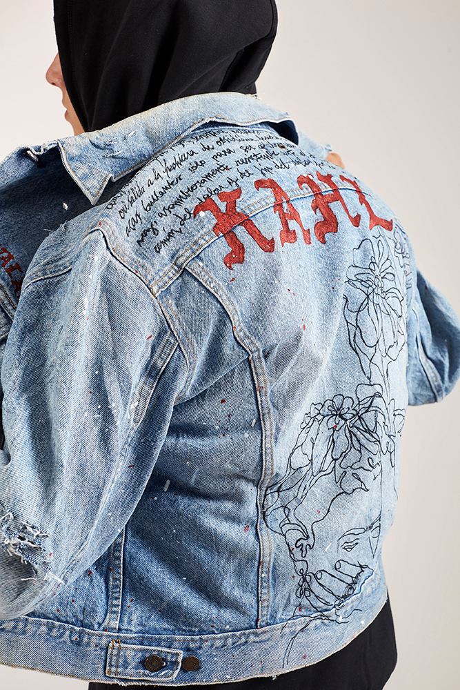 Kahlo Denim Jacket