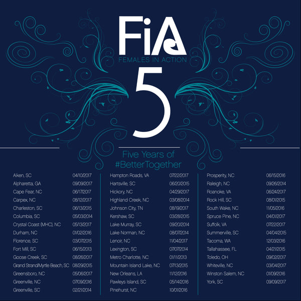 FiA 5th Anniversary Jersey - Navy Shirts Pre-Order