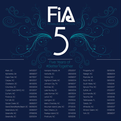 FiA 5th Anniversary Shirts - Navy
