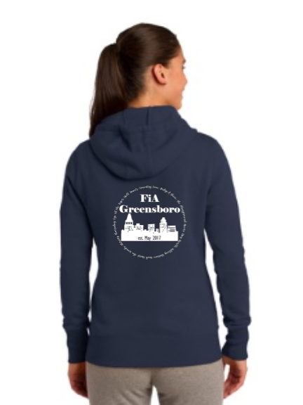 FiA Greensboro Sport-Tek Ladies Pullover Hooded Sweatshirt Pre-Order